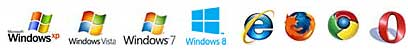 Support Systerm win7 win8 vista windows xp and so on
