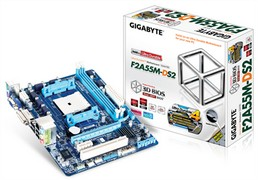 Gigabyte GA-F2A55M-DS2 Motherboard Drivers Download for