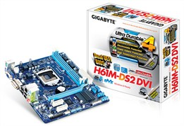 Gigabyte GA-H61M-DS2 DVI Motherboard Drivers Download for